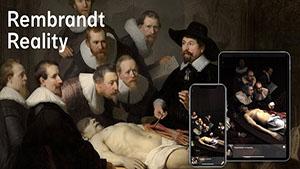 Rembrandt Reality AR app