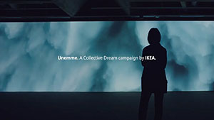 Unemme (Our Dream) - Ikea creates art from Finnish dreams.